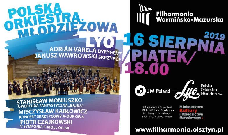 Koncert Polskiej Orkiestry Młodzieżowej LYO - full image
