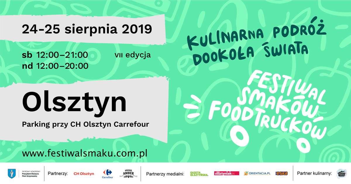 VII Festiwal Smaków Food Trucków w Olsztynie - full image