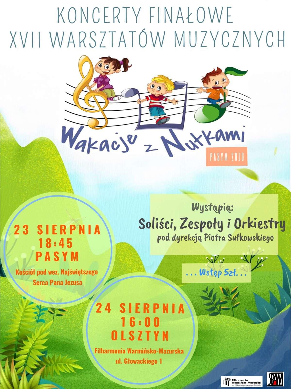 Finałowy koncert XVII warsztatów muzycznych  - full image