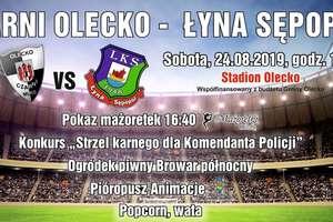 Czarni Olecko kontra Łyna Sępopol