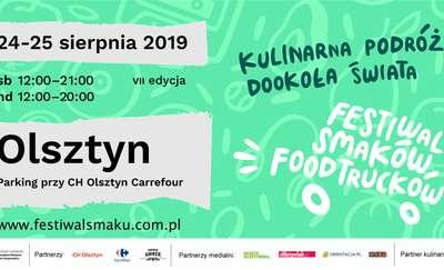 VII Festiwal Smaków Food Trucków w Olsztynie