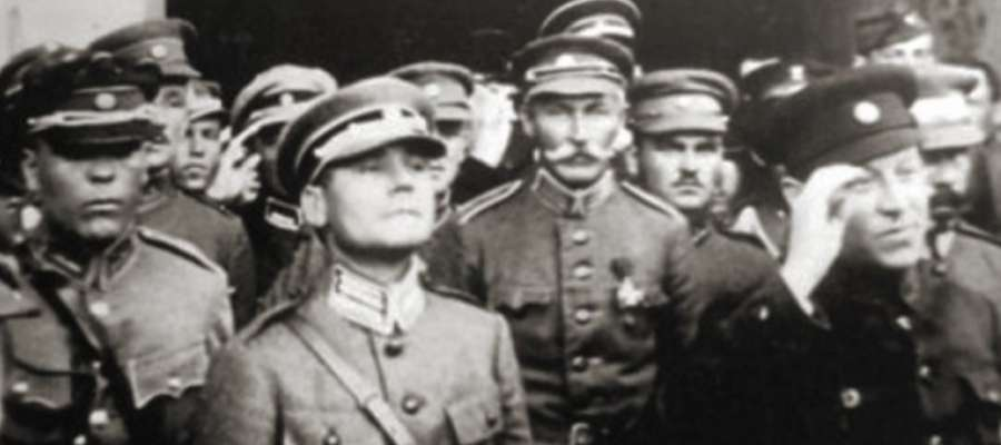 generał Marko Bezruczko i naczelny ataman Symon Petlura