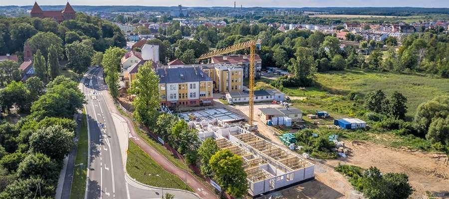 Nowy szpital w Nidzicy budowa