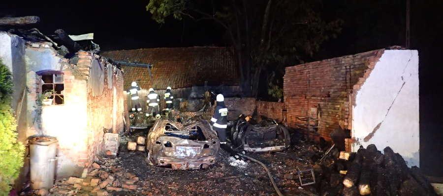Pożar w Wapniku