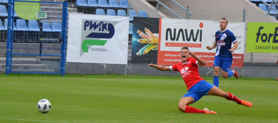 Po 5. kolejce Sokół Ostróda awansował na 1. miejsce w III lidze i oby tak było do końca sezonu