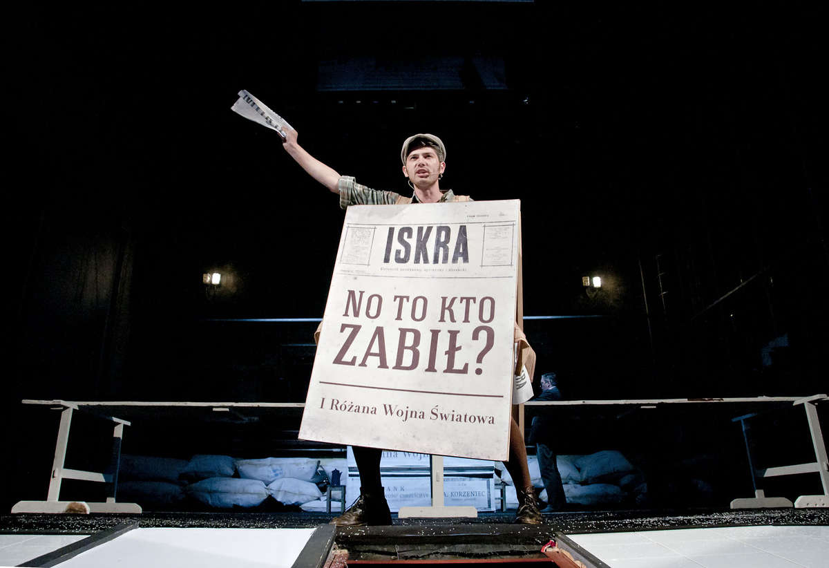 """""""Korzeniec"""" - spektakl Teatru Zagłębia z Sosnowca."""
