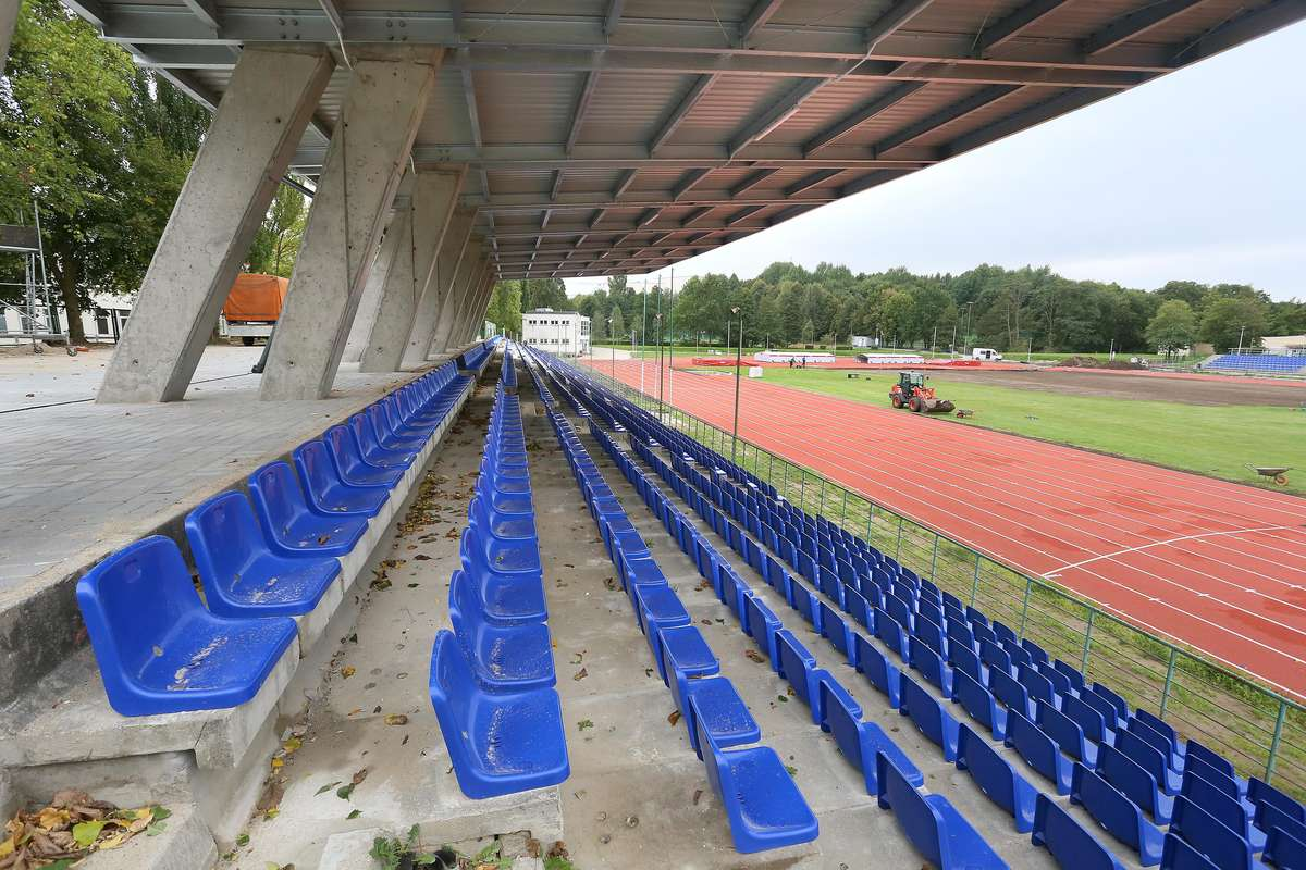Stadion UWM po remoncie