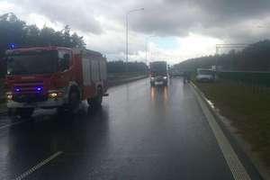 Wypadek na S7 koło Ostródy. Droga jest chwilowo całkowicie zablokowana
