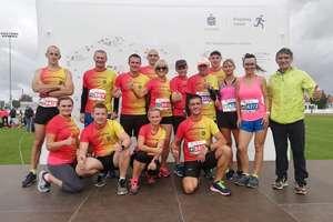 Bartoszycka Grupa Biegowa Endorfiny biegała w Lidzbarku Warmińskim i pomagała