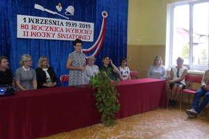 Rozpoczęcie roku szkolnego w szkole w Ostrowitem