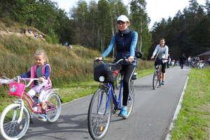 Ścieżką rowerową do Szaleńca