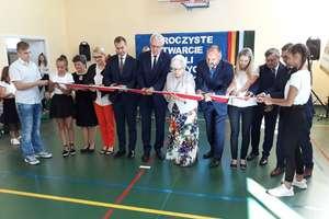 Otwarcie sali sportowej w Koszelewach