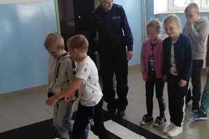 Policjantka spotkała się z uczniami