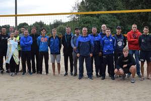 Siatkarze plażowi na plaży miejskiej walczyli o mistrzostwo Ostródy