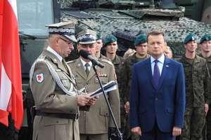 Dywizja świętowała w Bartoszycach. Jej dowództwo będzie w Olsztynie [FILM]