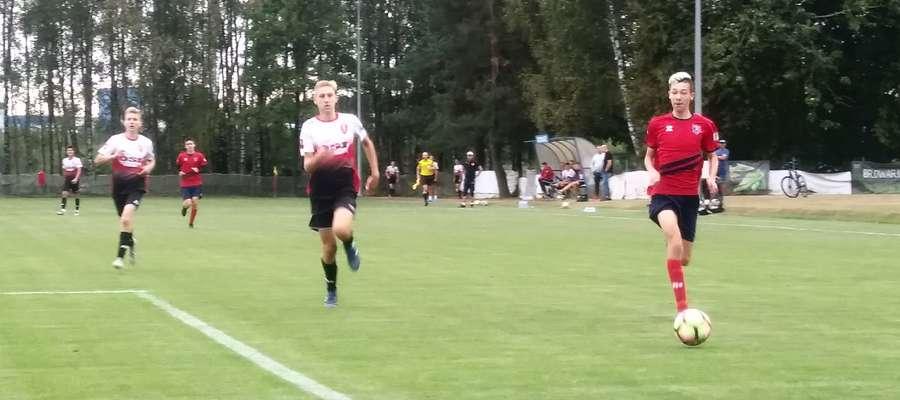 Juniorzy młodsi AP Ostróda przegrali 0:1
