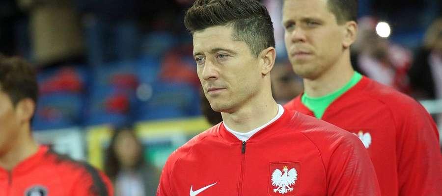 Robert Lewandowski i Wojciech Szczęsny
