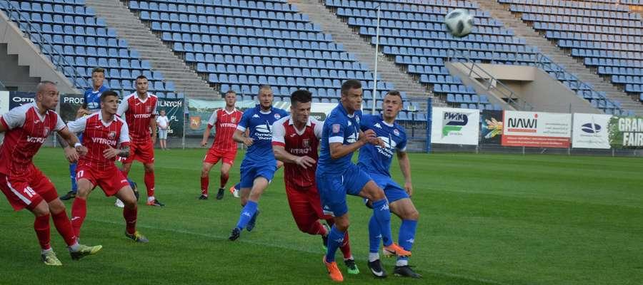 Piłkarze Sokoła na Mazowszu powalczą o siódme ligowe zwycięstwo i pozostanie na fotelu lidera