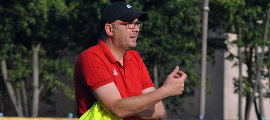 Wojciech Tarnowski cieszy się z udanego początku sezonu, ale podkreśla, że to tylko... początek