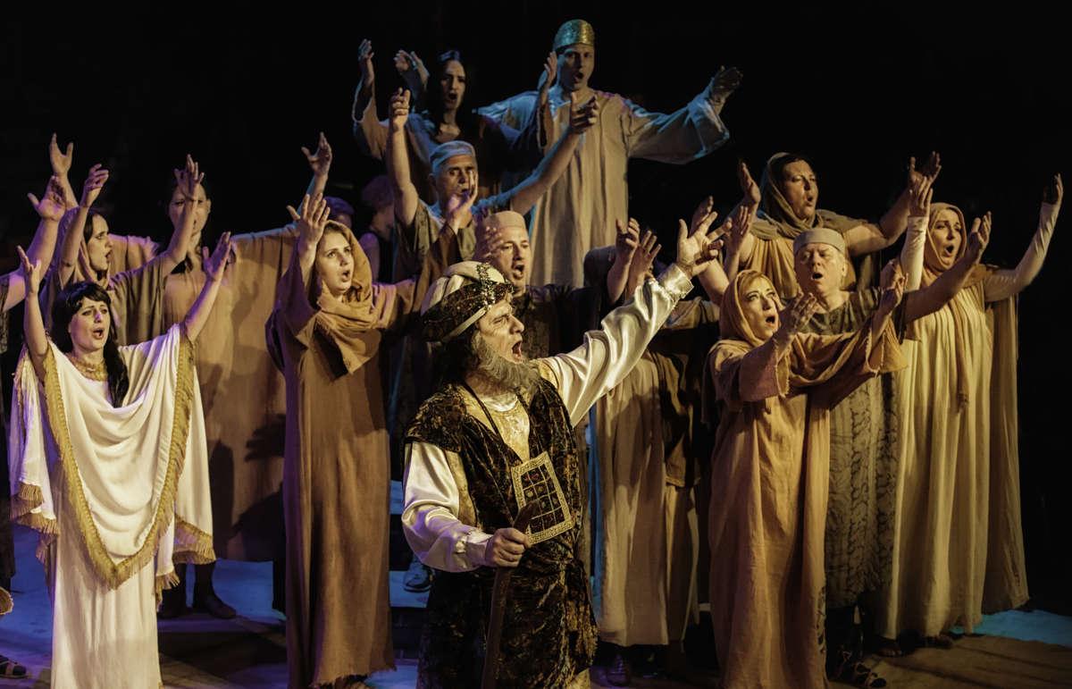 Widowisko operowe – NABUCCO G. Verdiego w OLsztynie - full image