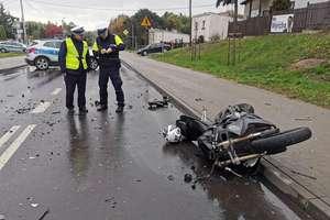 Region: 19 letni motocyklista śmiertelną ofiarą wypadku