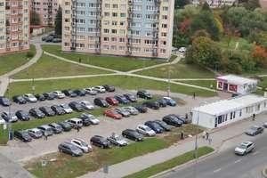 Blok przy ulicy Żołnierskiej w Olsztynie bez prądu