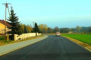 Kierowcy mogą się cieszyć nową drogą z Tereszewa do Partęczyn
