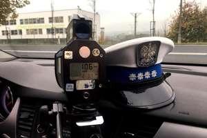 Kierowca przekroczył w Troszkowie dozwoloną prędkość o 59 km/h