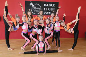 Młode tancerki z Olsztyna wytańczyły mistrzostwo
