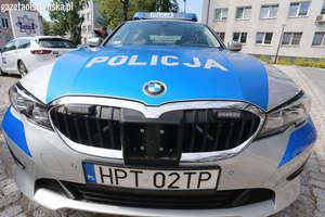 Nocna akcja policji w Olsztynie. Kontrolowali uczestników nielegalnych wyścigów