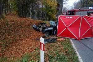 Tragiczny wypadek na trasie  Mrągowo - Kętrzyn