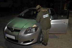 Toyota z podejrzanym numerem VIN