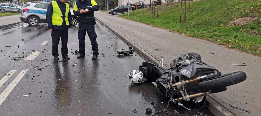 Śmiertelny wypadek młodego motocyklisty