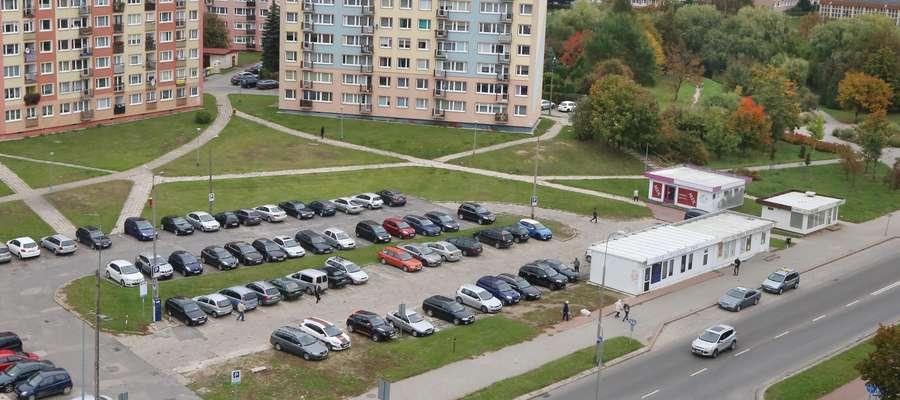 Bloki na ulicy Żołnierskiej w Olsztynie.