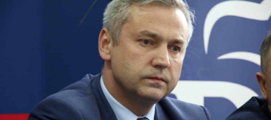 Poseł Jerzy Małecki głosował przeciw projektowi PiS