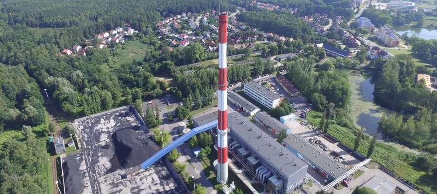 Na miejscu tego komina, stanie nowy, niższy, wyposażony w nowoczesny system monitoringu emisji