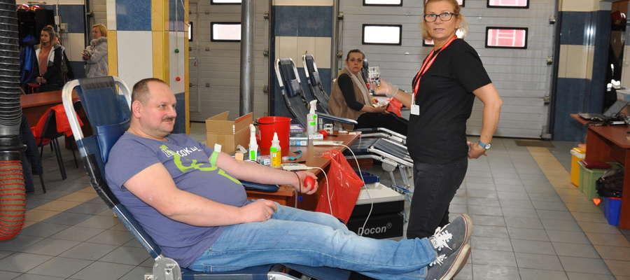 Już 12 października znów krwiodawcy oddadzą cenny lek w siedzibie straży pożarnej w Nowym Mieście
