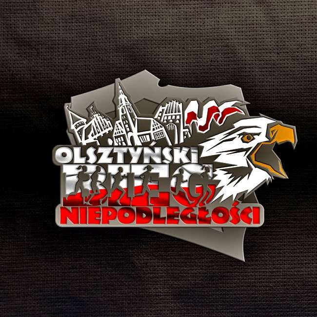 Charytatywny Bieg Niepodległości w Olsztynie - full image