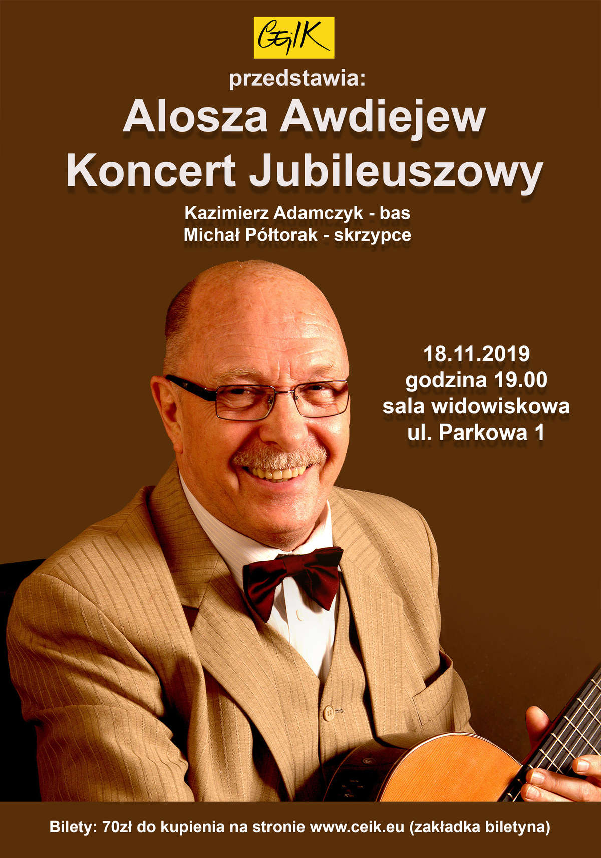 Alosza Awdiejew – Koncert Jubileuszowy - full image