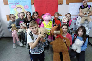 Dzień Pluszowego Misia w Szkole Podstawowej w Sokolicy