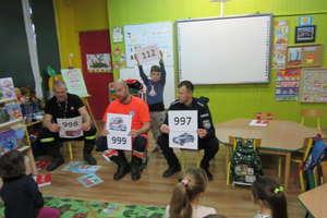 Przedszkolaki z Bezled poznały zasady wzywania pomocy