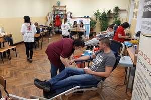 """Udana akcja krwiodawstwa w """"Mechaniaku"""". Krew oddały 33 osoby"""