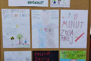 Uczniowie ze Szkoły Podstawowej w Sokolicy mówią papierosom