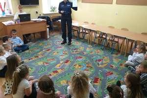 Wizyta policjantek z Działdowa u 6-latków