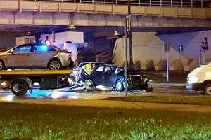 Groźne zderzenie na skrzyżowaniu w Olsztynie sparaliżowało pół miasta [AKTUALIZACJA, VIDEO ITS]