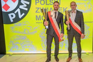Bartoszycki pilot rajdowy nagrodzony podczas gali Polskiego Związku Motorowego