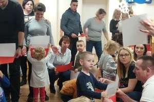 Jesienne zabawy kreatywne z rodzicami w Przedszkolu Publicznym nr 2 w Bartoszycach