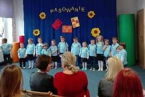 Pasowanie u przedszkolaków w Tereszewie
