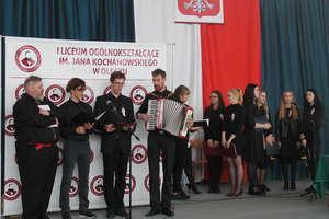 Obchody Święta Niepodległości w I LO w Olecku