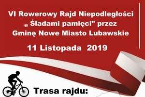 """VI Rowerowy Rajd Niepodległości """" Śladami pamięci"""